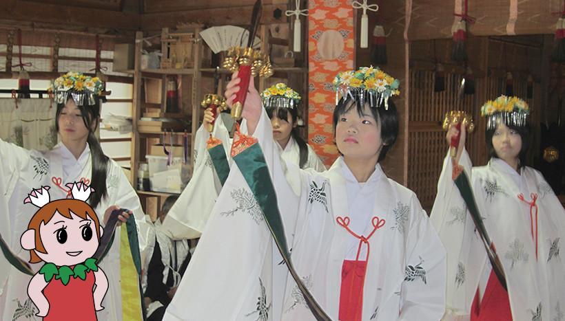 写真:「樂樂福(ささふく)神社春季例大祭」鳥取県日野郡日南町・樂樂福神社(5月1日)