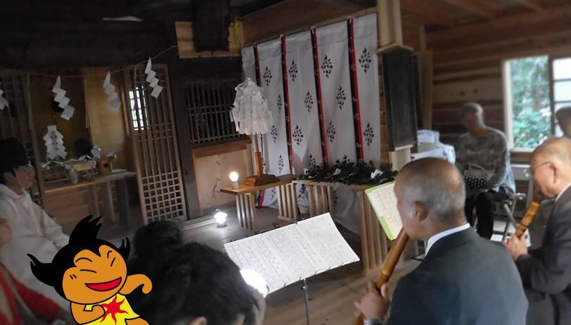 写真:「魚見塚浅間神社例大祭」千葉県鴨川市貝渚・魚見塚浅間神社(7月30・31日)