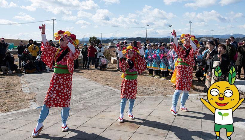 写真:「安波祭」福島県双葉郡浪江町請戸・苕野神社(くさのじんじゃ)(2月第3日曜日)